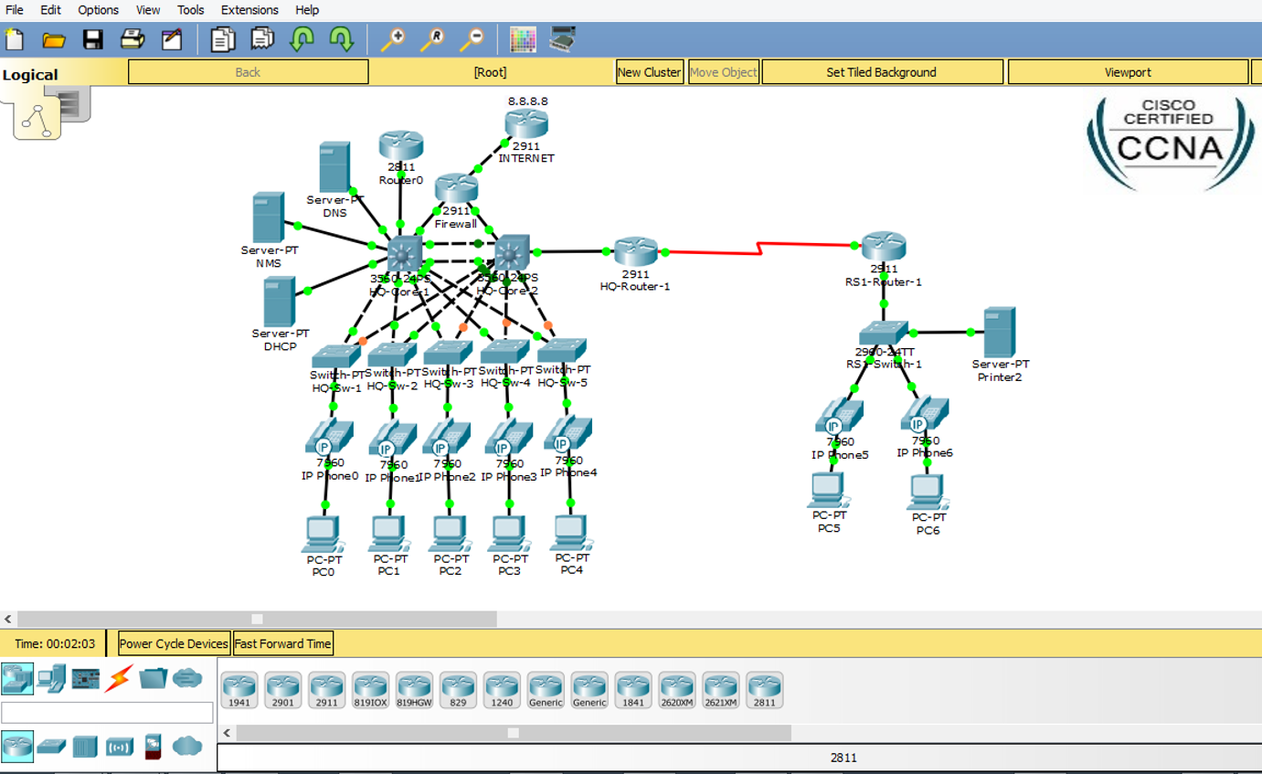 cisco packet tracer free course
