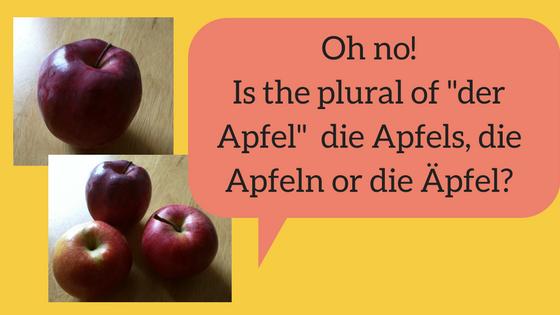 Plural of kuchen