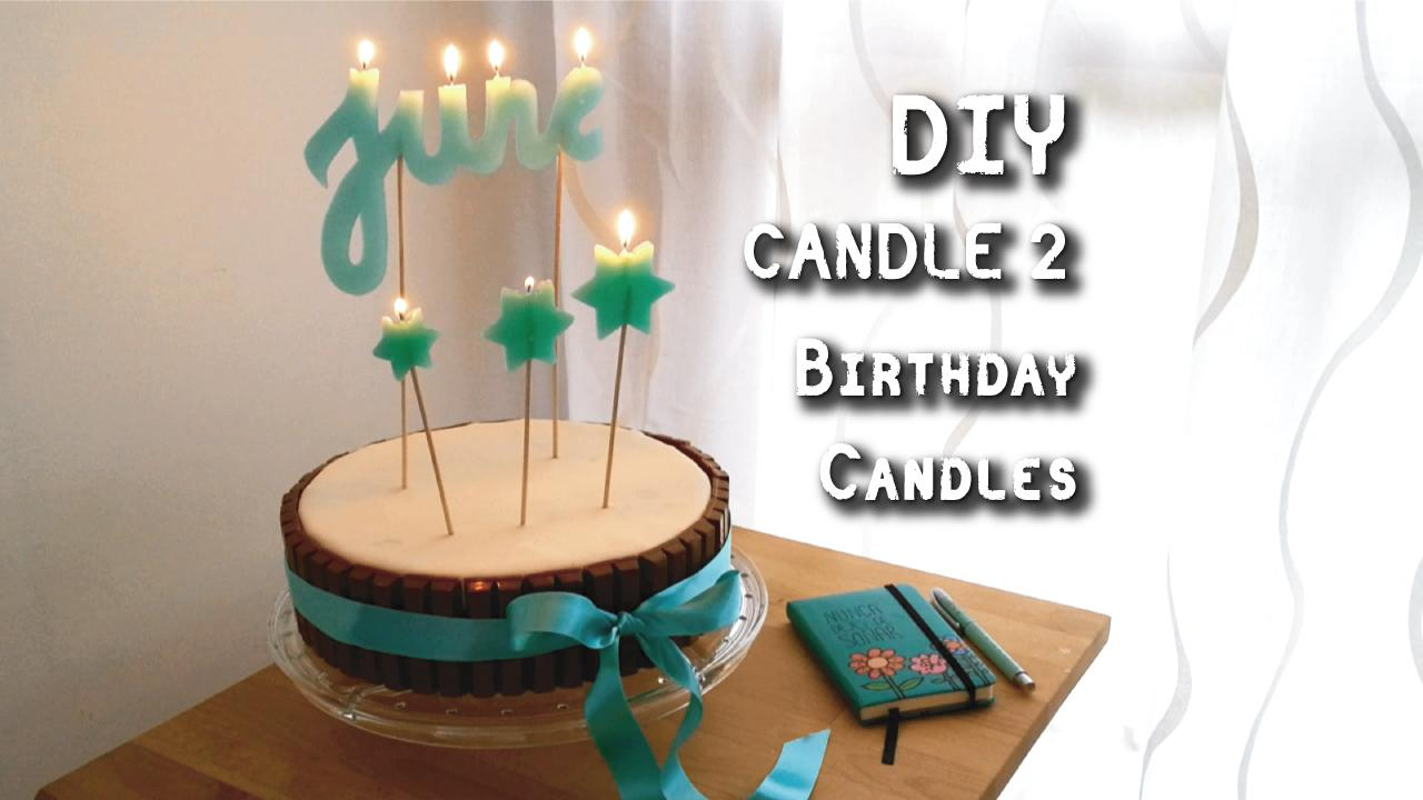 In This Class Of 23 Minutes Youll Learn How To Do The 3 Different Techniches Birthday Candles From Very Simple Last One Where You Can