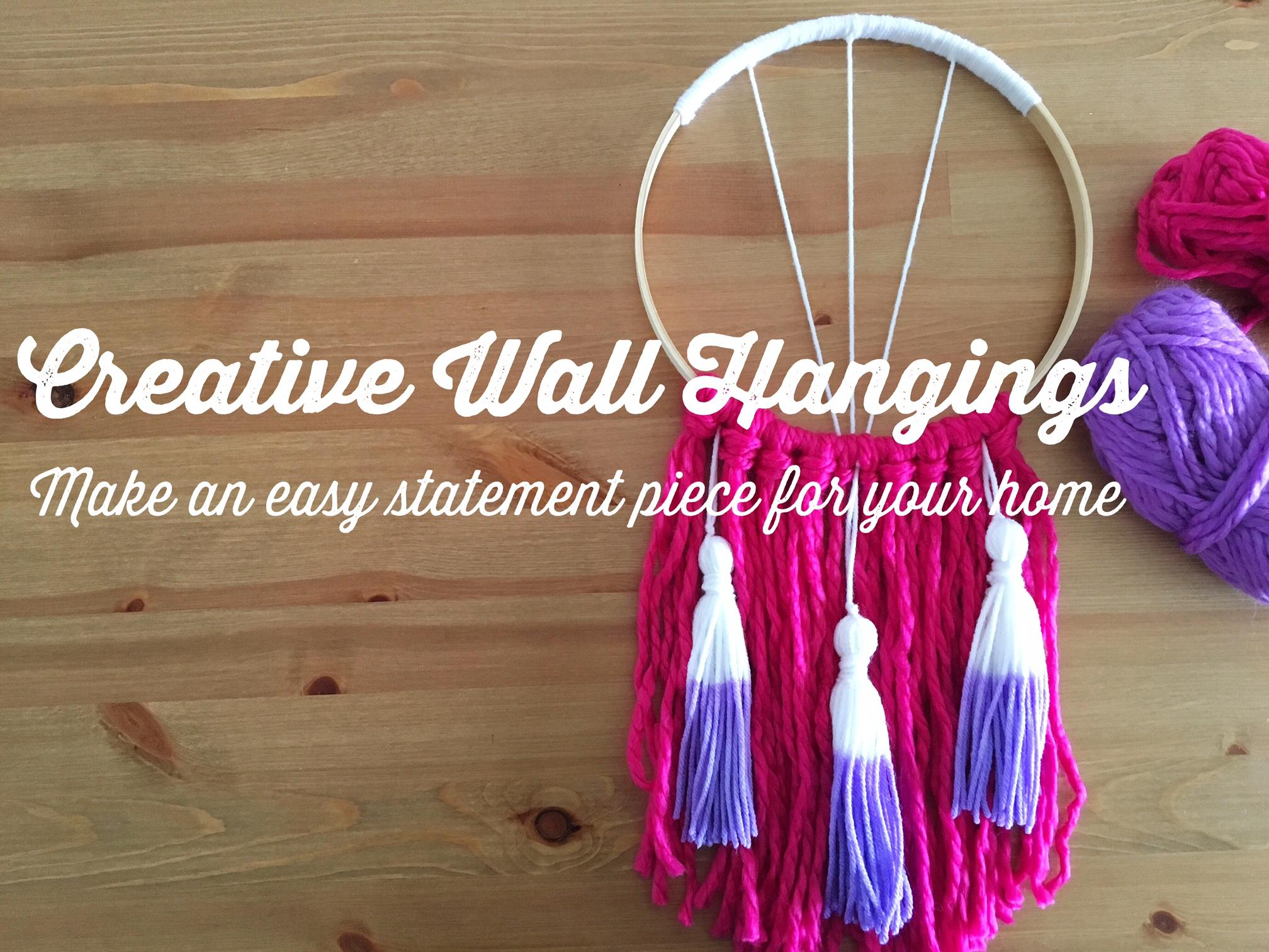 Creative Wall Hangings Make An Easy Statement Piece Chelsea
