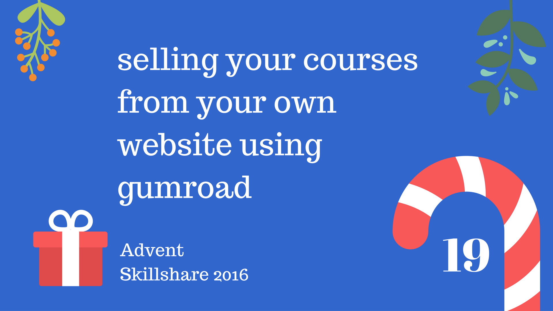 Selling your Courses Using Wordpress + Gumroad -Skillshar Free Course Skillshare Coupon Code