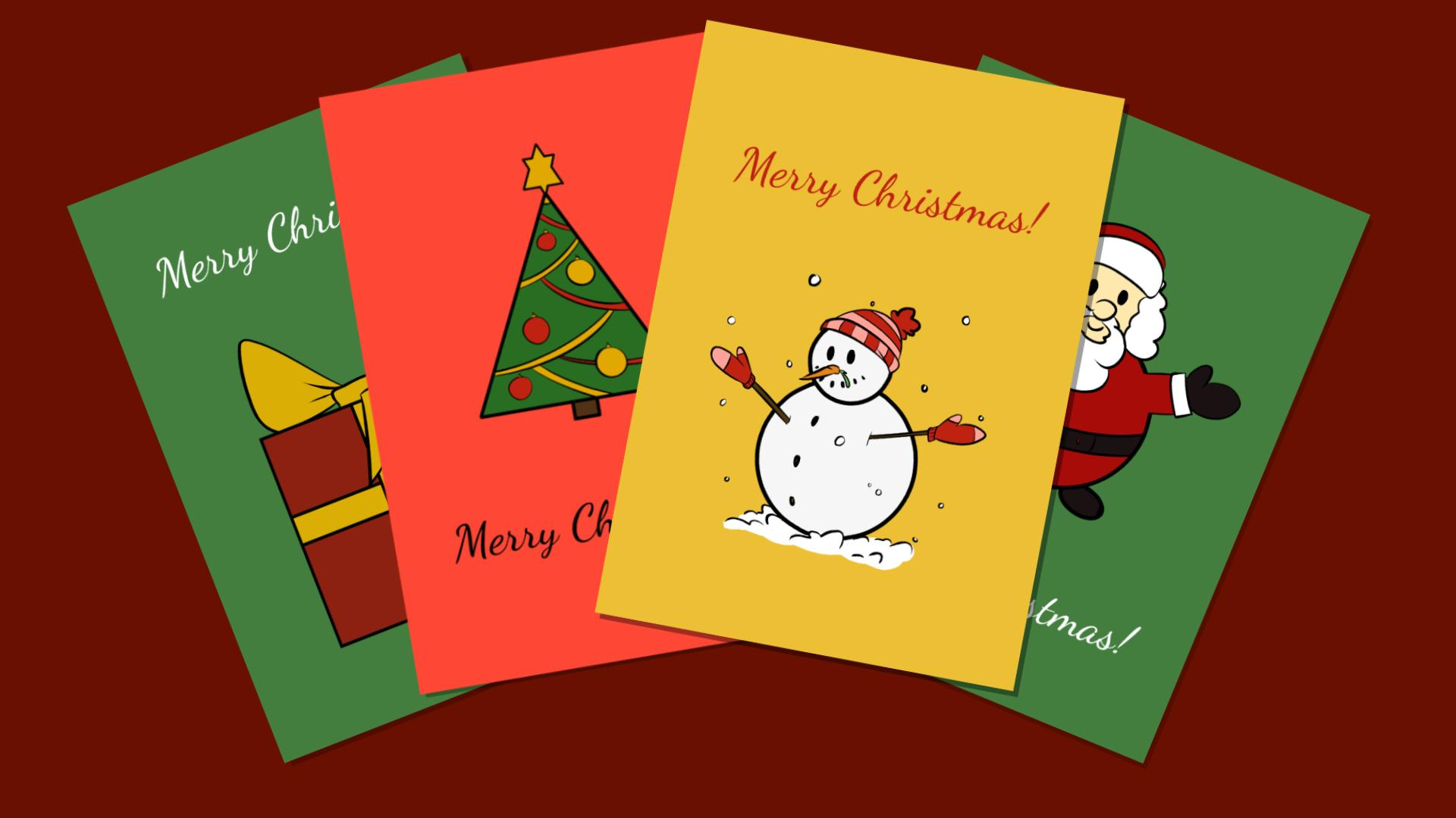 How to Make a Wonderful Christmas Card for the Holidays - DIY ...
