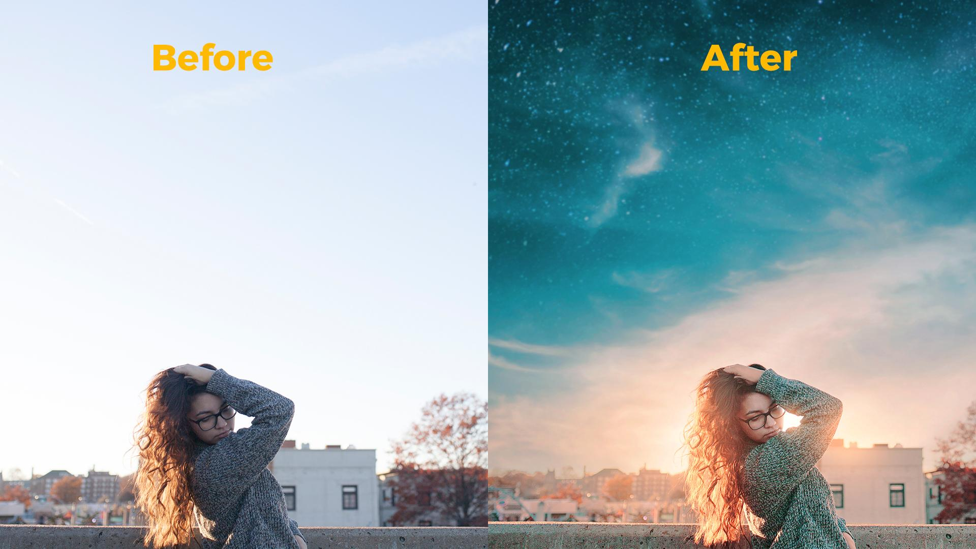 How to swap skies in Photoshop for dynamic photography | Ruthie