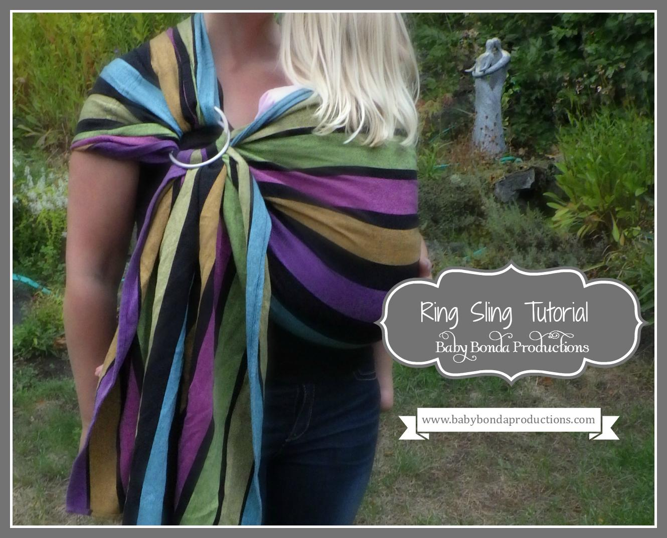 baby ring sling tutorial - sew your own baby carrier | wanda b