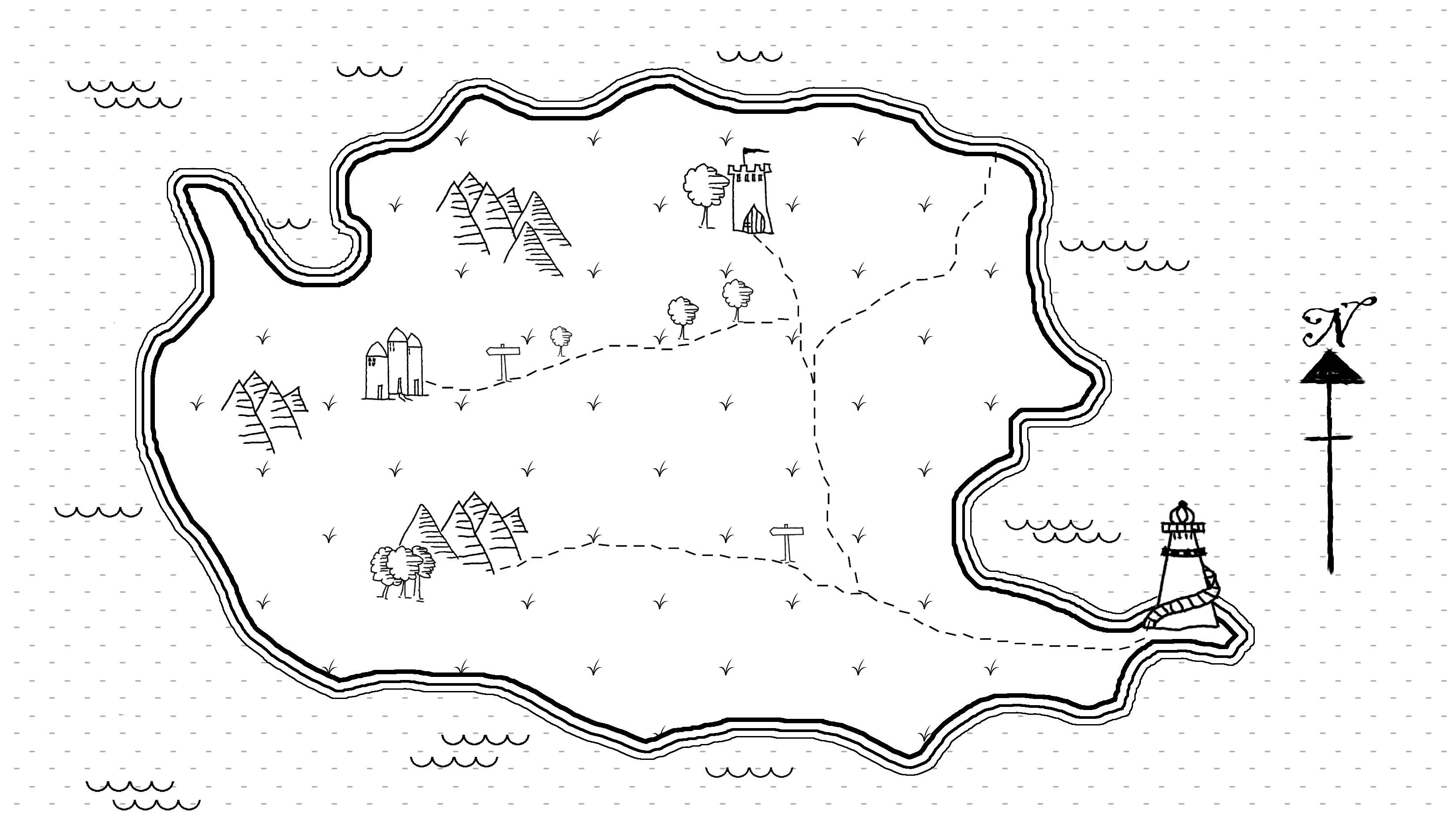 Draw A Map Photoshop for Lunch™   Draw a Fantasy Map   Brushes, Patterns
