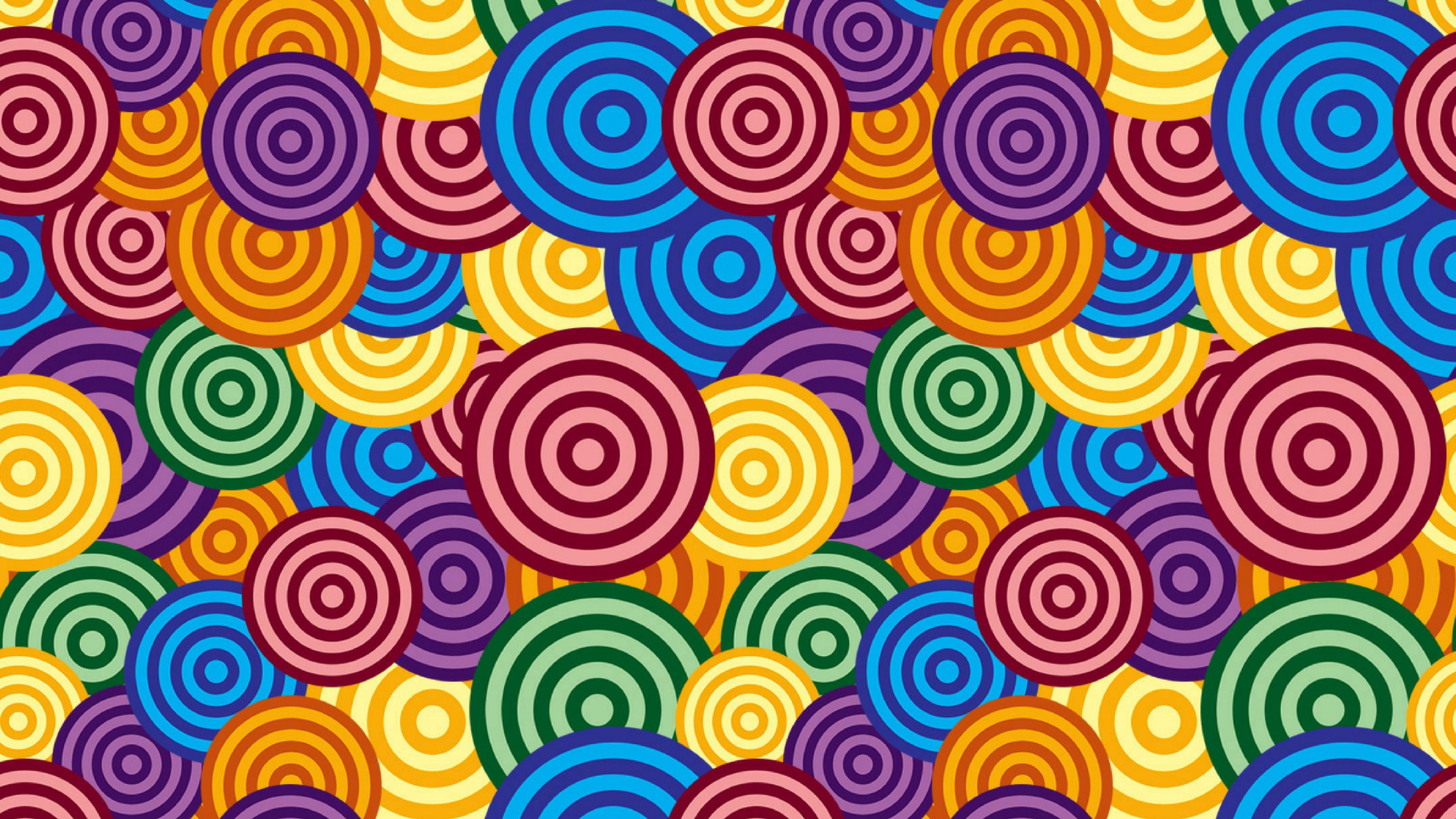 Photoshop for Lunch™ - Overlapping and Random Circles Patterns
