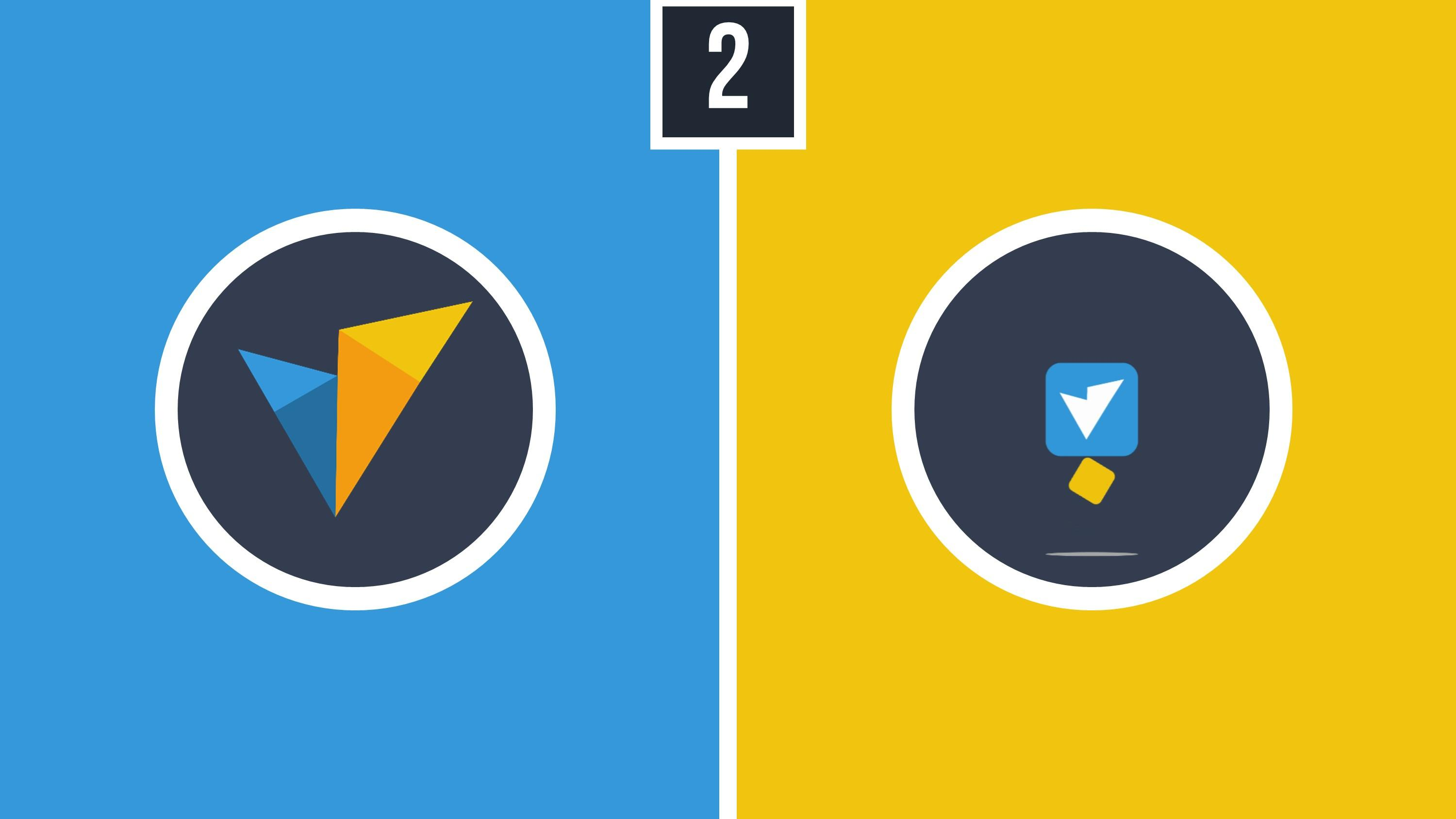 how to create stunning logo reveals in powerpoint 2 color drop