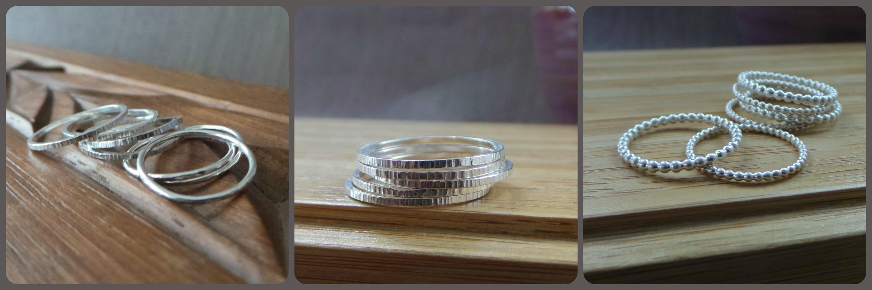 Silver Stacking Rings: Making Beautiful Rings From Silver Wire ...
