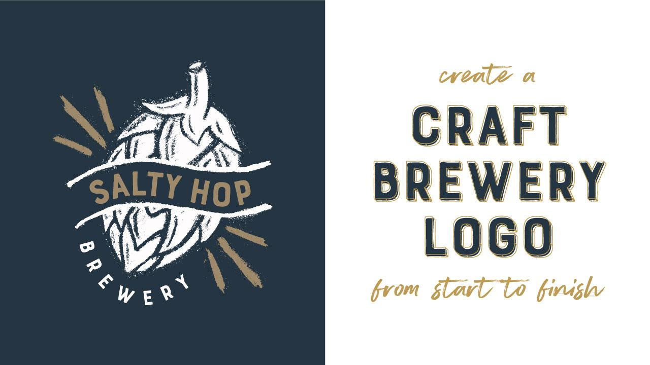Create A Craft Brewery Logo From Start To Finish Cody Hockin