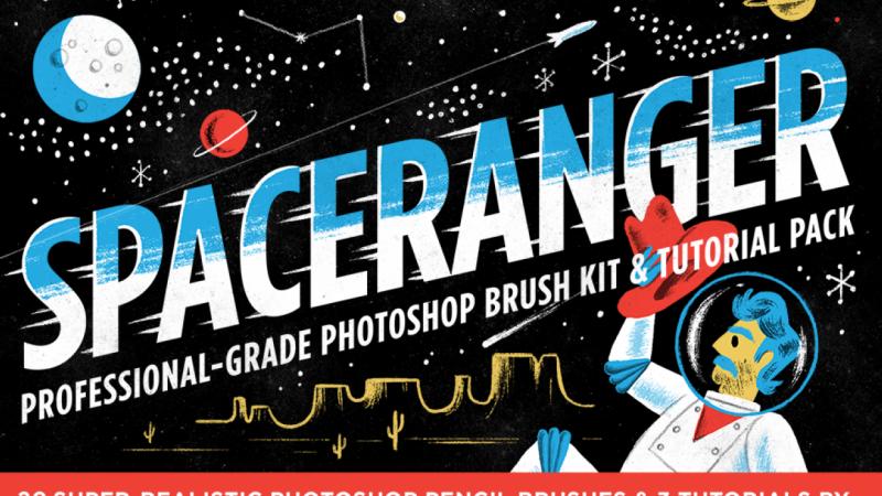 SpaceRanger Photoshop Brush Pack