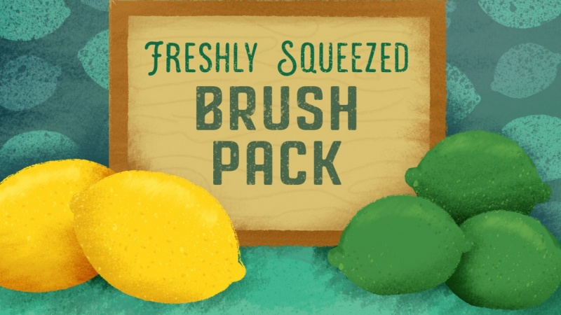 My Freshly Squeezed Brushpack