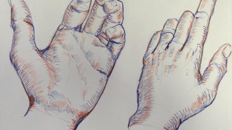 3 x Hands