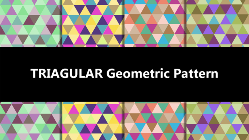 TRIANGULAR Geometric Pattern