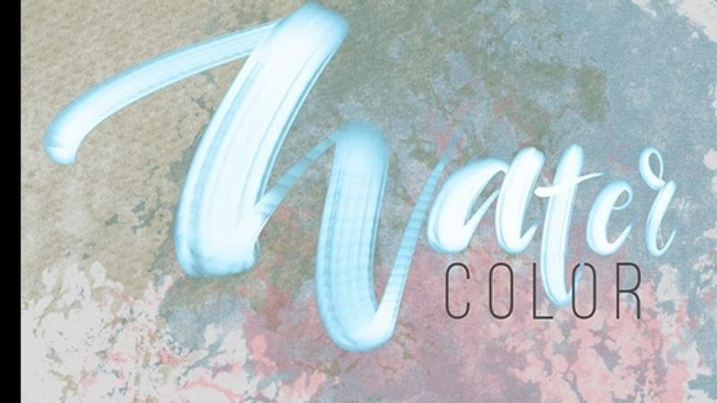Watercolor Lettering & Texture