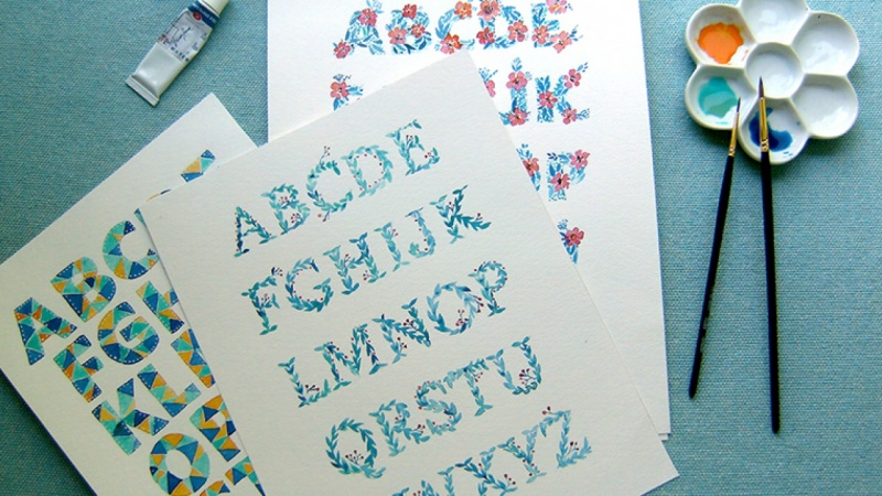 Alphabets sample projects