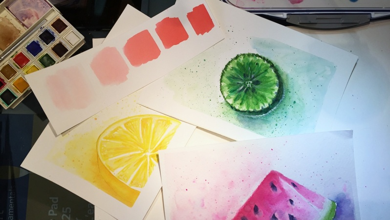 Loose & Juicy Watercolor