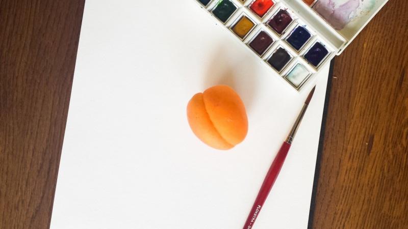 Apricot & Watercolors