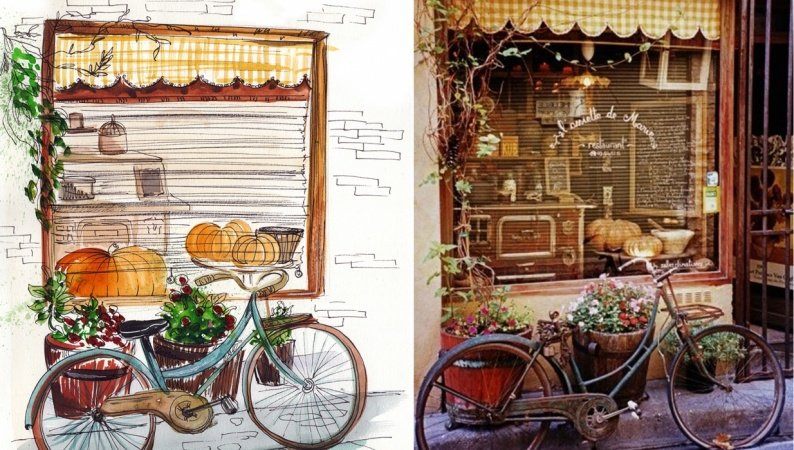 Bike south of France