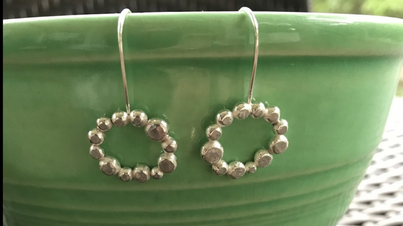 Rustic Hammered Dots
