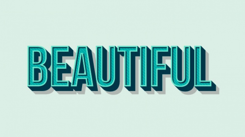 Easy 3D Text Effects in Adobe Illustrator