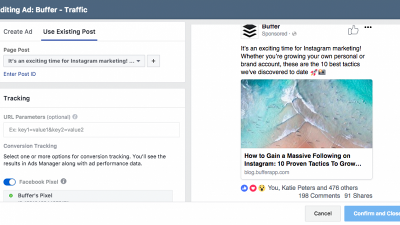 Buffer's Highest-Performing MOFU Facebook Ad