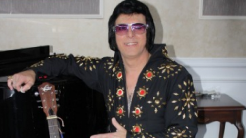 Elvis Lost Brother Photo Booth