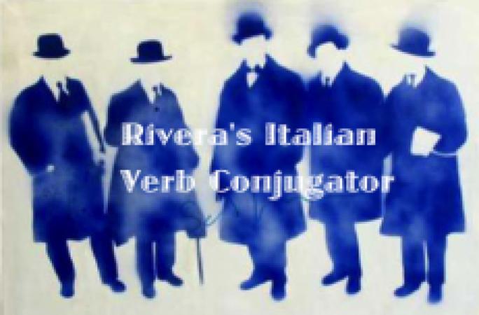 Rivera's Italian Verb Conjugator