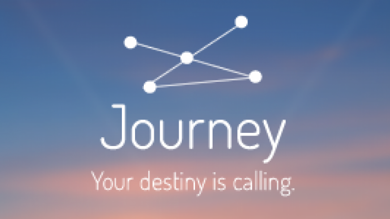 Journey  | Your destiny is calling.