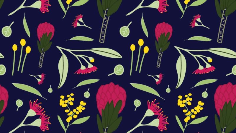 Australian native florals