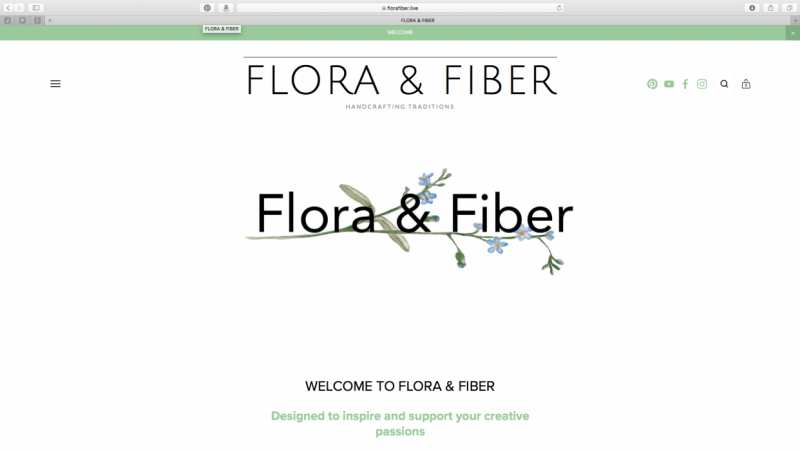 About Page - Flora & Fiber