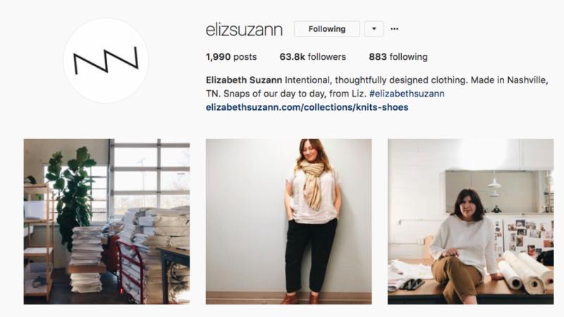 Elizabeth Suzann Instagram Inspiration