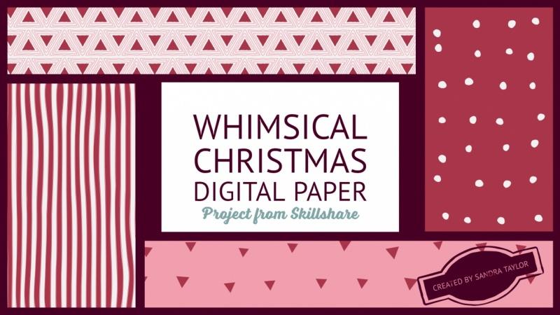 Whimsical Digital Paper
