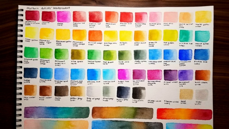 Holbein Watercolors!