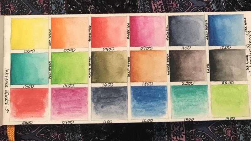 Kuretake Gansai Tambi Watercolors