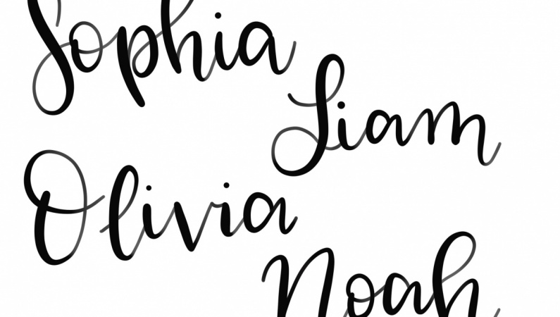 Brush Lettering Projects