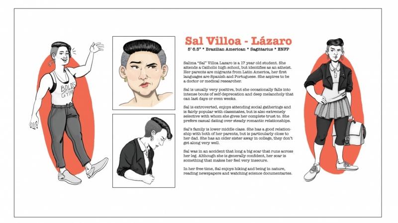 Character Biography (Teacher Sample)