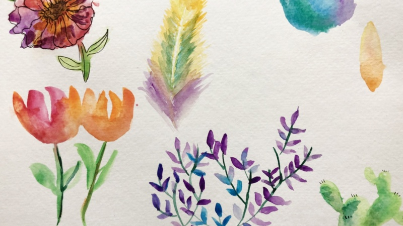 30 Day Journey to Confident Watercolor Painting