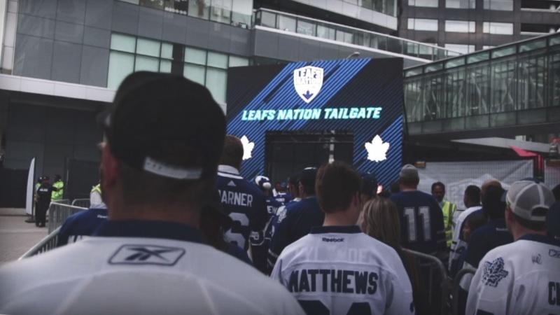 Toronto Maple Leafs Tailgate Vlog