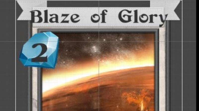 Blaze of Glory Spell card