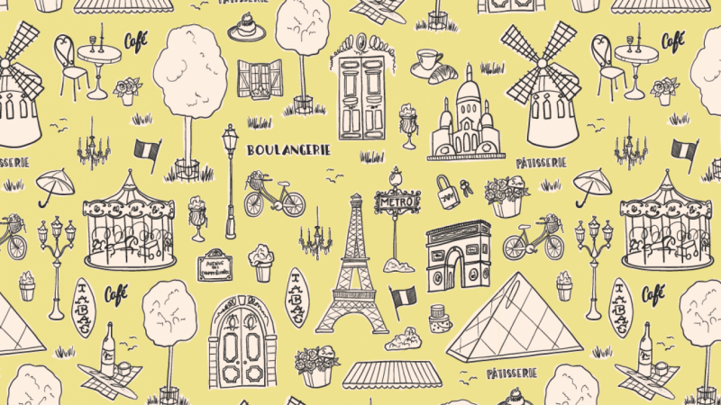 Paris for a Day Toile