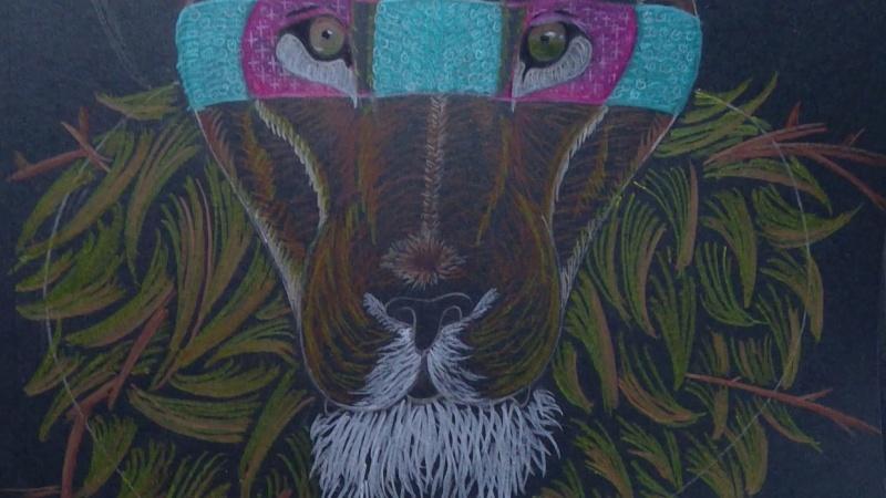 Stylized Lion Pt. 2