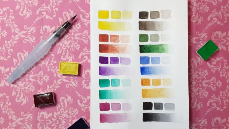 Weekend & watercolors I