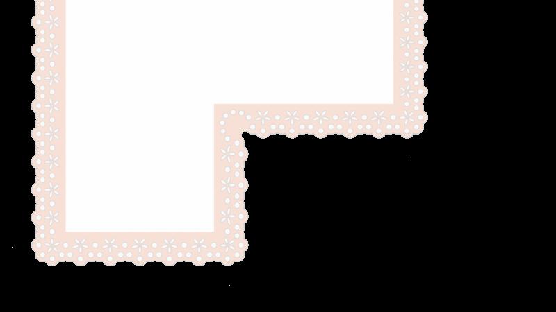Lace Pattern Brush with corners