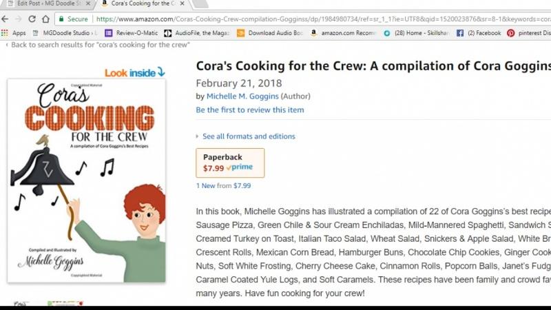 It's a cookbook!