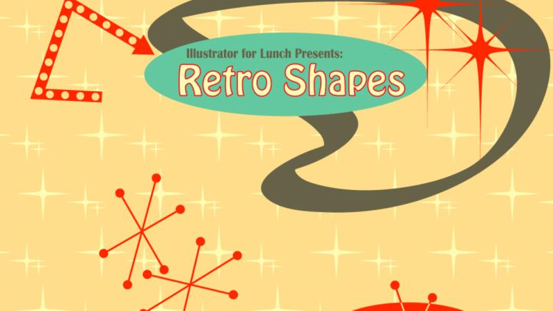 retro shapes