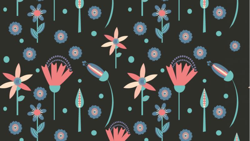 Floral Pattern by Victoria N.