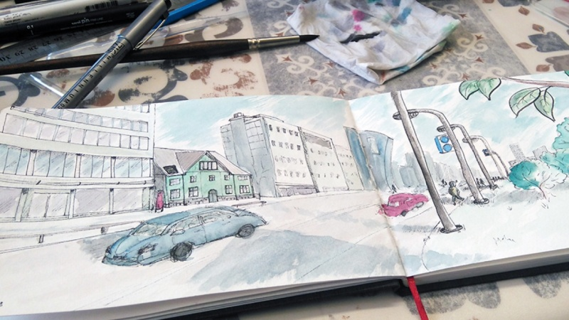 Sketches from Tallinn