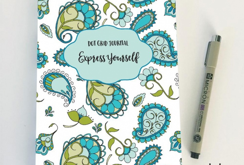 Dot Grid Journal: Express Yourself!