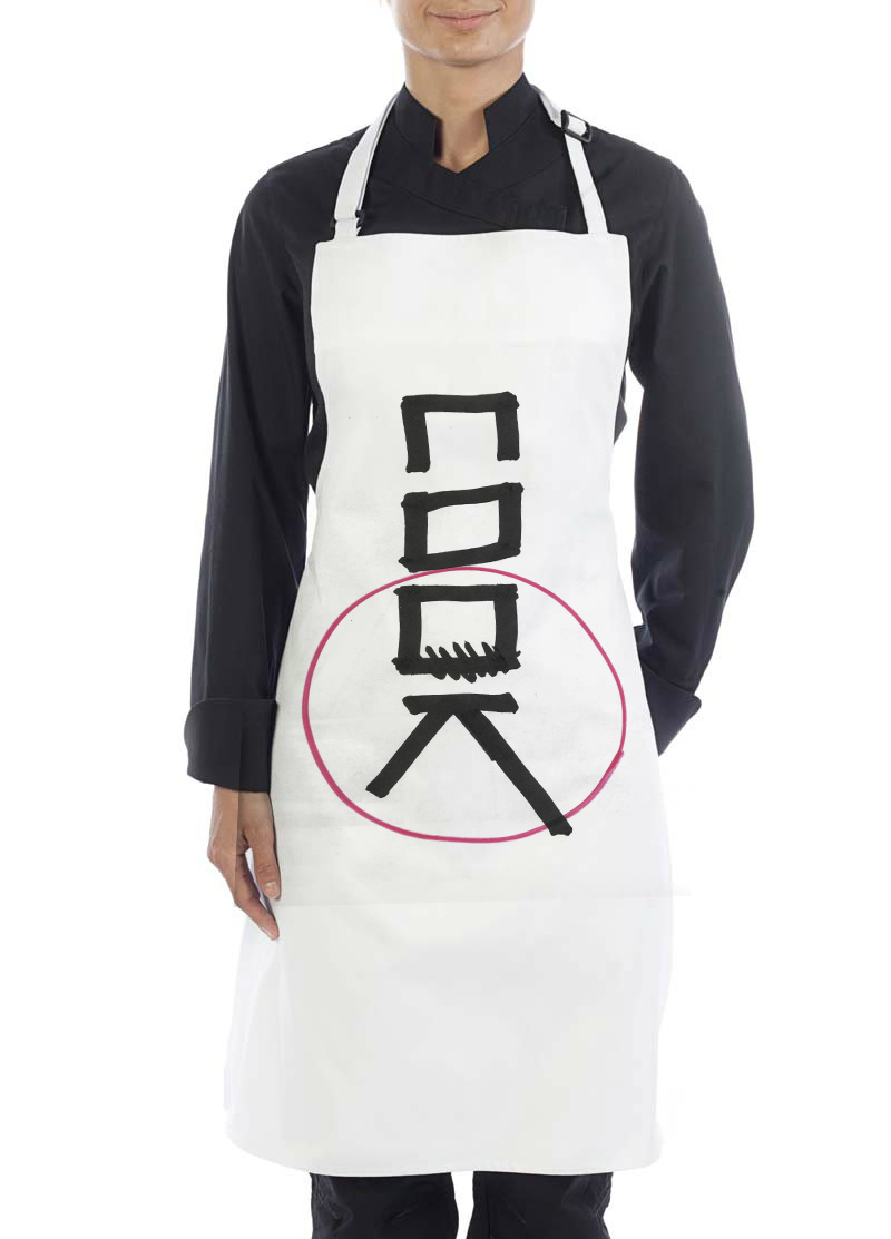White apron mockup free - White Apron Mockup Free 89