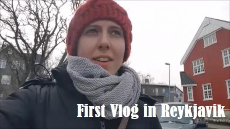 First Vlog in Reykjavik